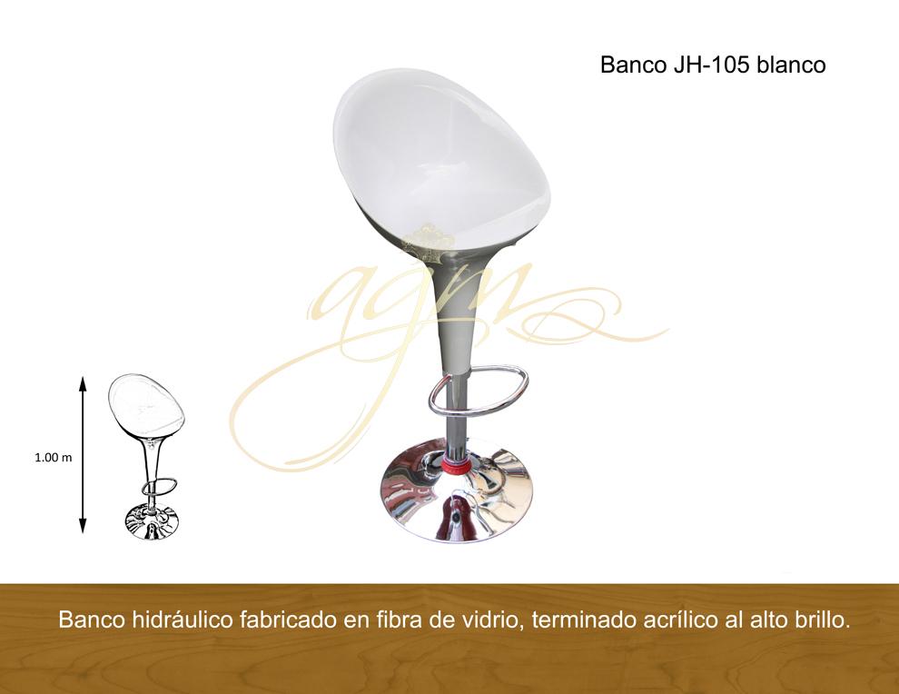 BANCO JH-105 BLANCO