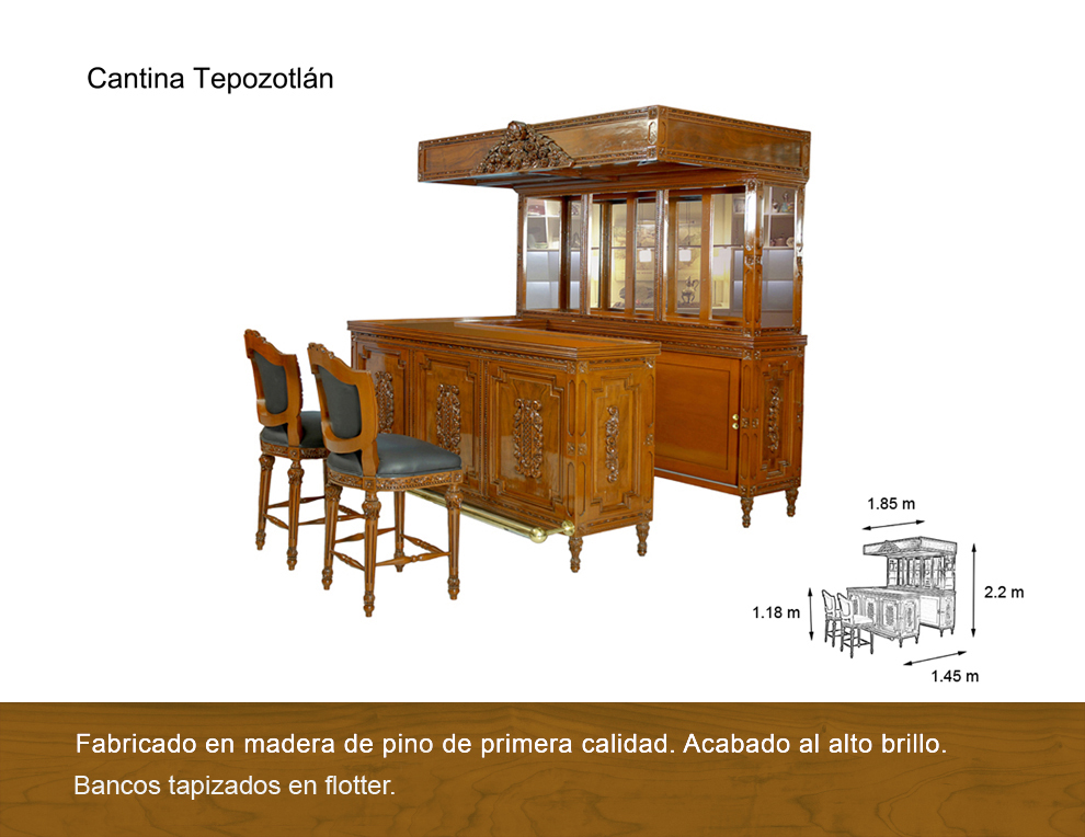 Cantina tepozotlan antigua galeria del mueble - Galeria del mueble ...