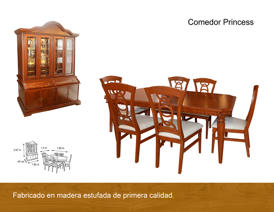Comedor princes antigua galeria del mueble - Galeria del mueble ...