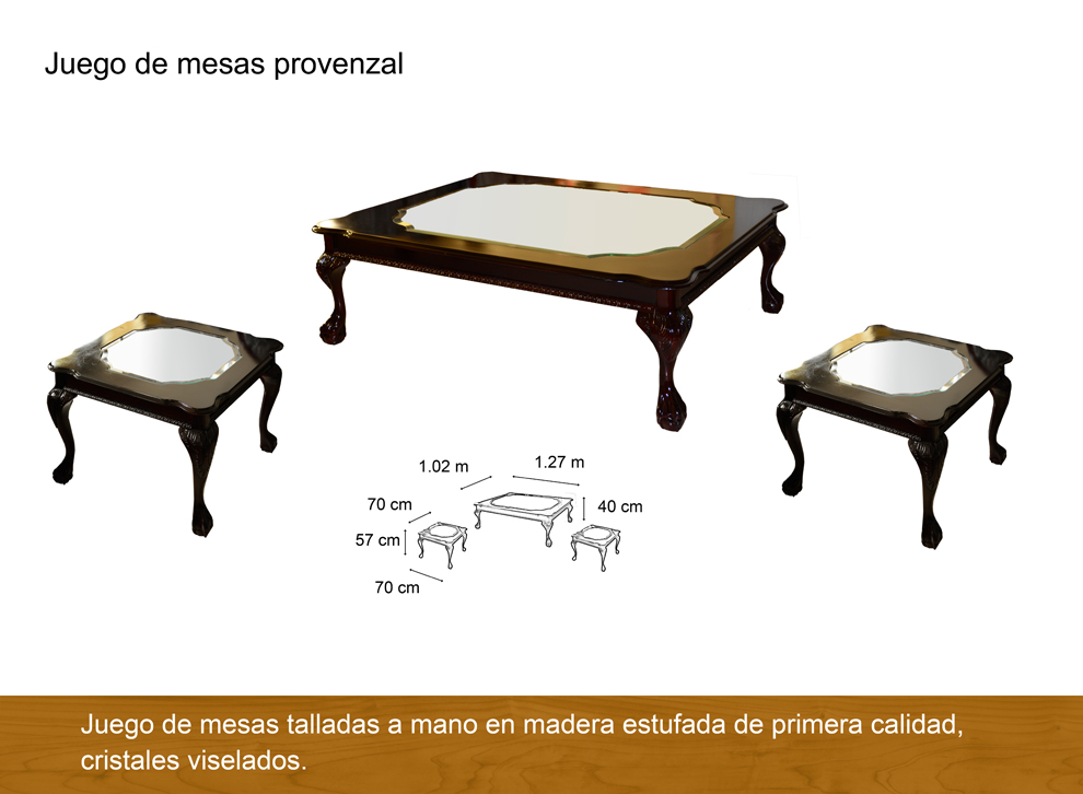 Mesas de centro antigua galeria del mueble - Galeria del mueble ...