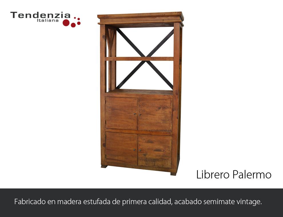 Librero palermo antigua galeria del mueble - Galeria del mueble ...