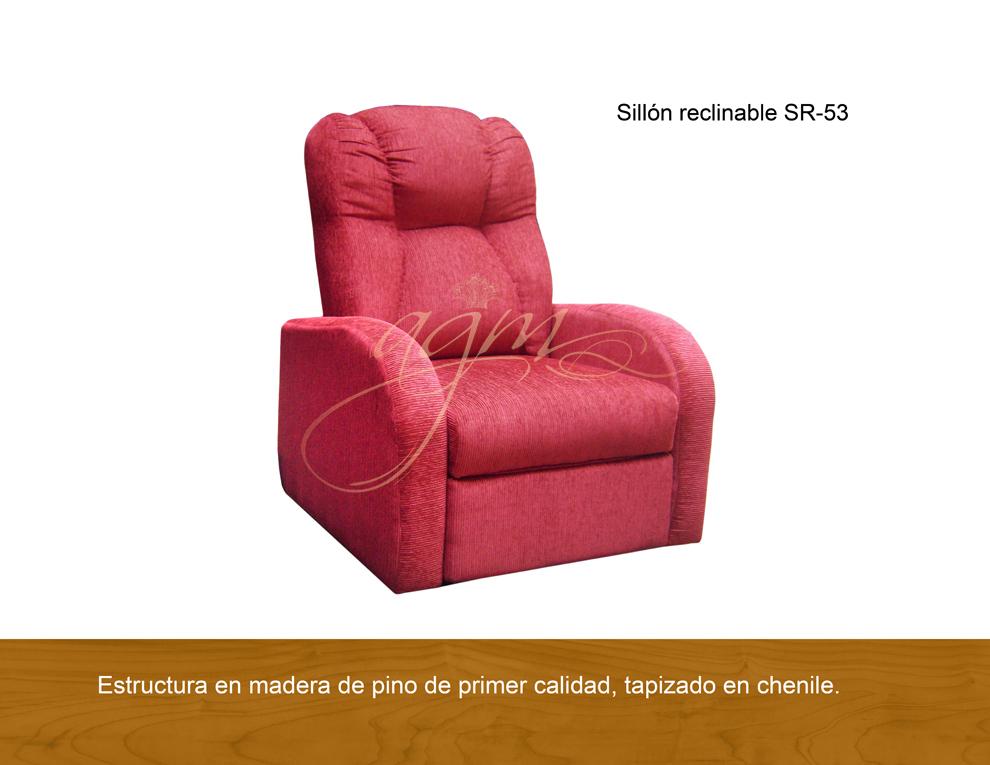 SILLON RECLINABLE SR 53