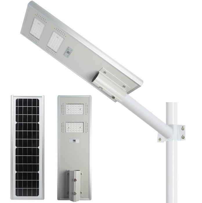 LAMPARA SOLAR SSSL-100W ALL IN ONE